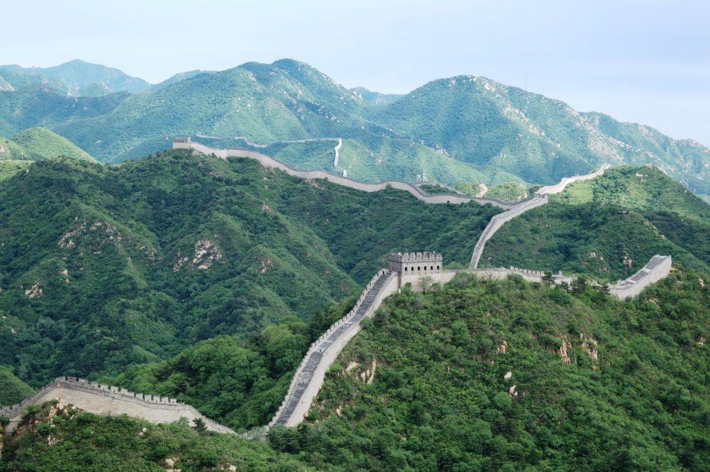 produzione energia elettrica - muraglia cinese