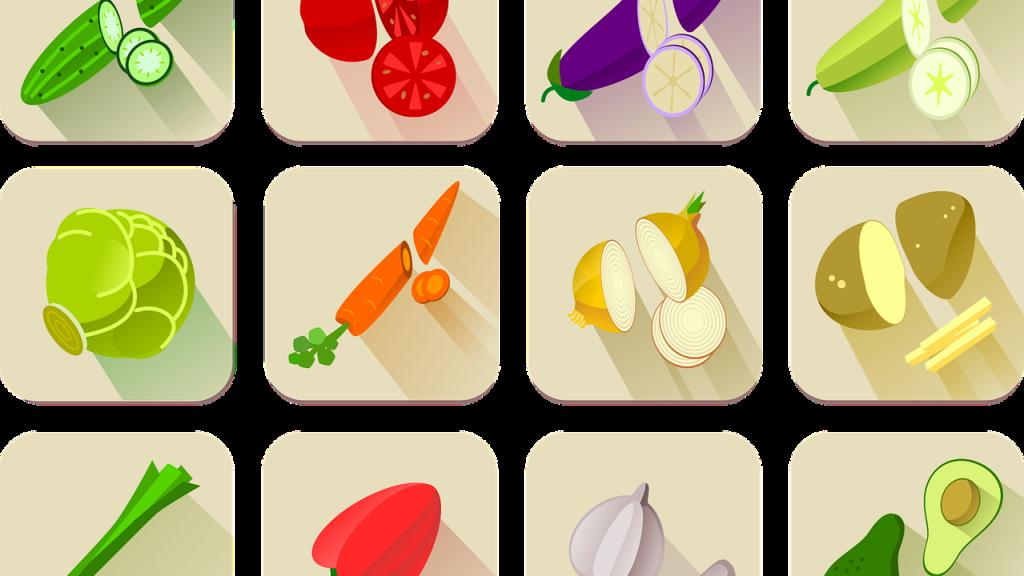La frutta e la verdura di stagione: un'utile lista mese per mese