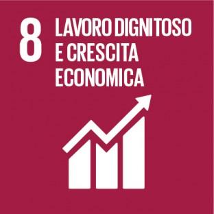 obiettivi sviluppo sostenibile sdg 2030 - 8