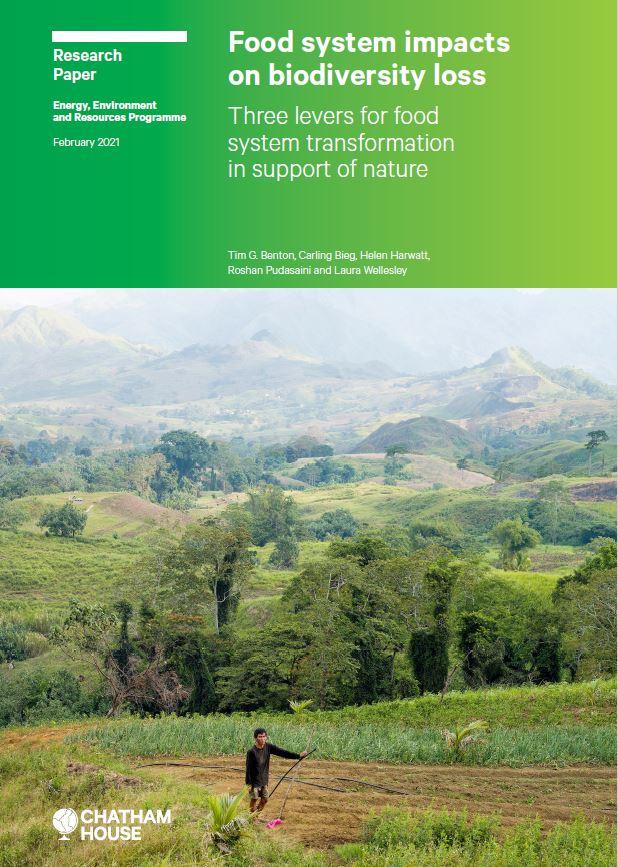 perdita biodiversità e sistema alimentare - nuovo studio
