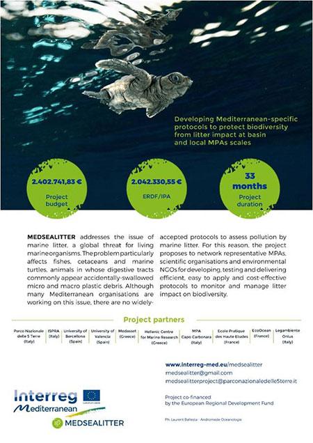 isole plastica mare  - progetto medsealitter